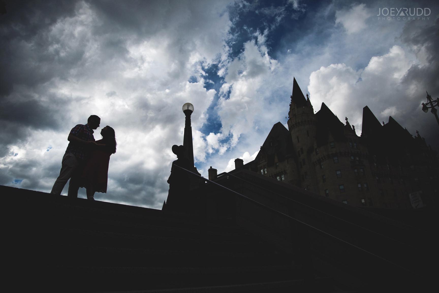 Ottawa Engagement Photography by Ottawa Photographer Joey Rudd Photography Chateau Laurier Downtown