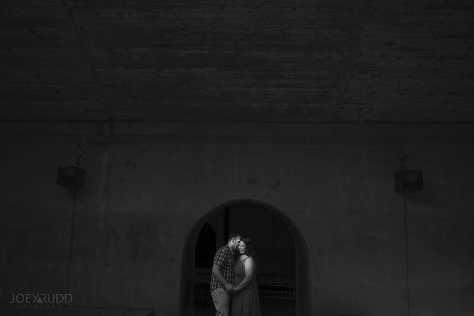 Ottawa Engagement Photography by Ottawa Photographer Joey Rudd Photography Confederation Tunnel