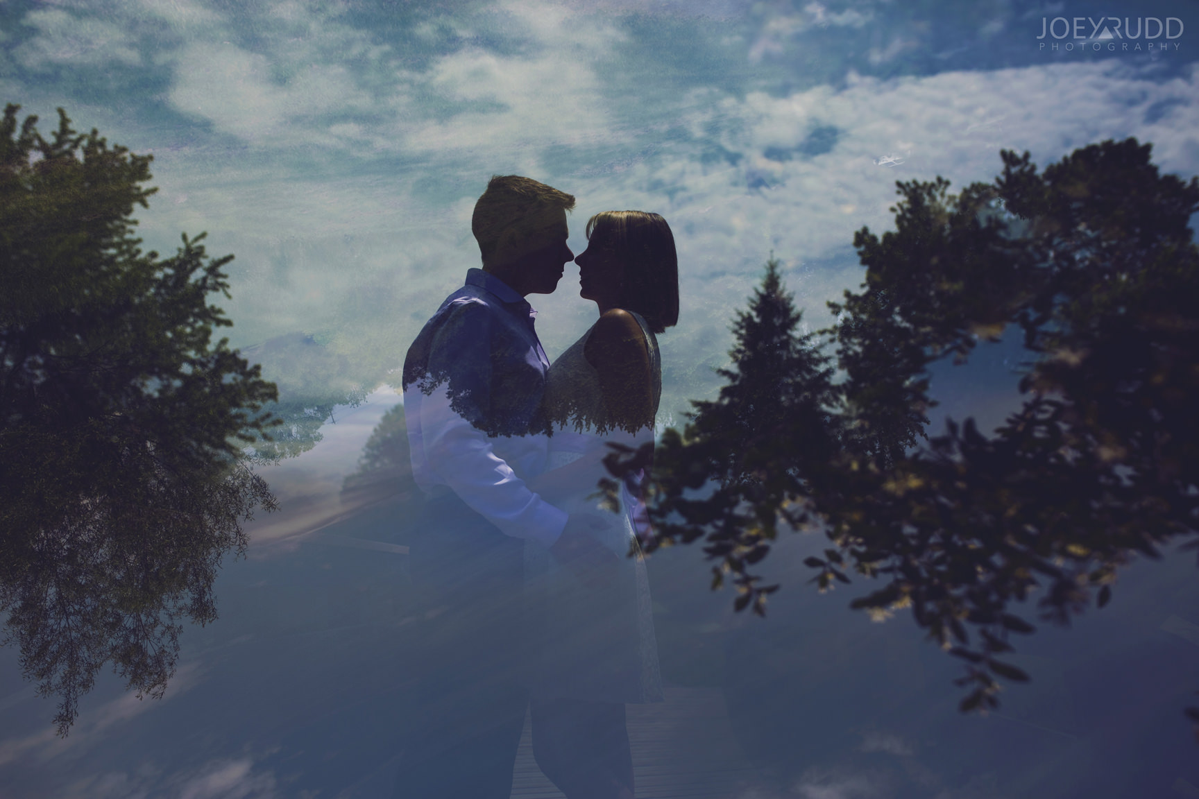 Elopement Wedding Ottawa Photographer Elope Photography Joey Rudd Photographer Double Exposure