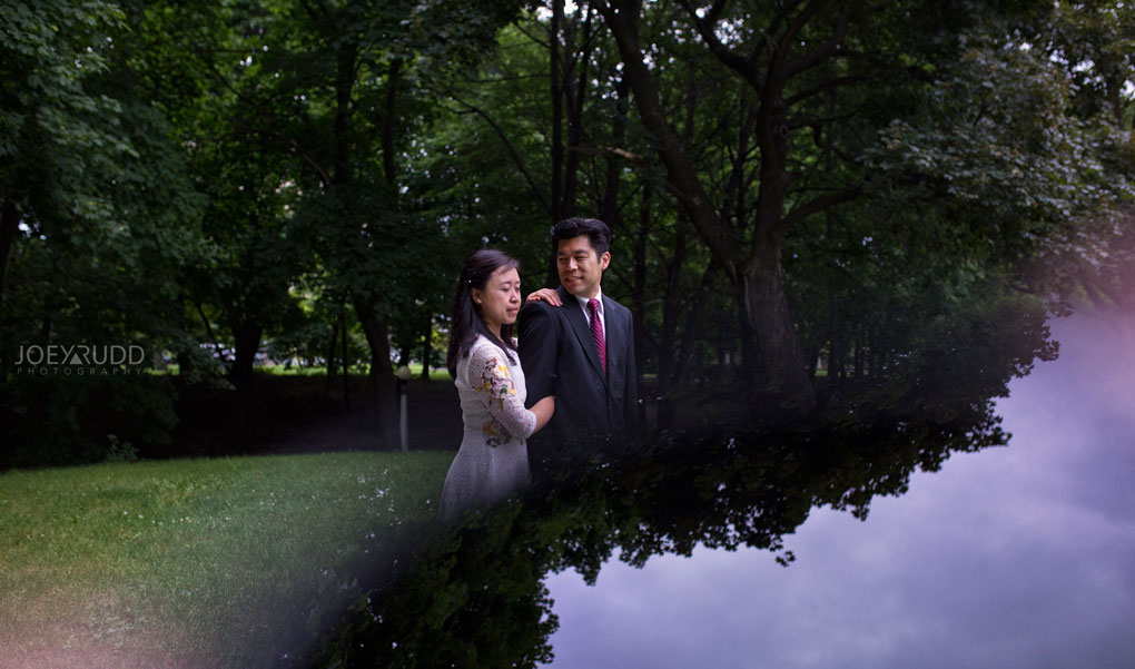 Dark Side of the Sun by Ottawa Wedding Photographer Joey Rudd Photography Creative Photo Art Dark Sunning Elopement Wedding