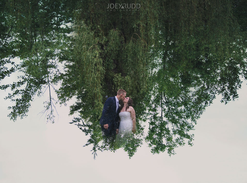 Wedding Perth Stewart Park Code's Mill Ottawa Wedidng Photographer Joey Rudd Photography Couple Double Exposure