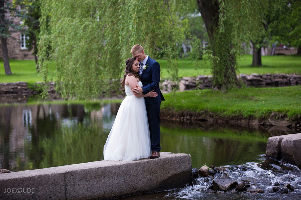 Wedding Perth Stewart Park Code's Mill Ottawa Wedidng Photographer Joey Rudd Photography Couple Water
