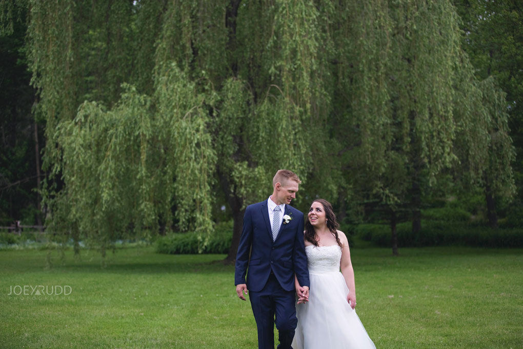 Wedding Perth Stewart Park Code's Mill Ottawa Wedidng Photographer Joey Rudd Photography Couple Walk Lifestyle Natural
