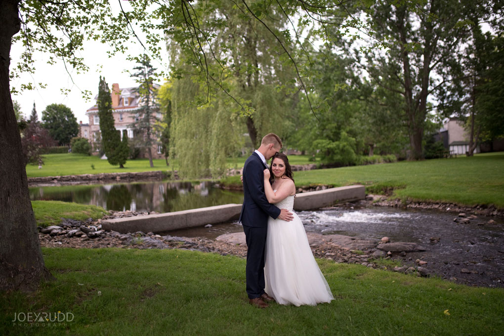 Wedding Perth Stewart Park Code's Mill Ottawa Wedidng Photographer Joey Rudd Photography Couple Water Nature