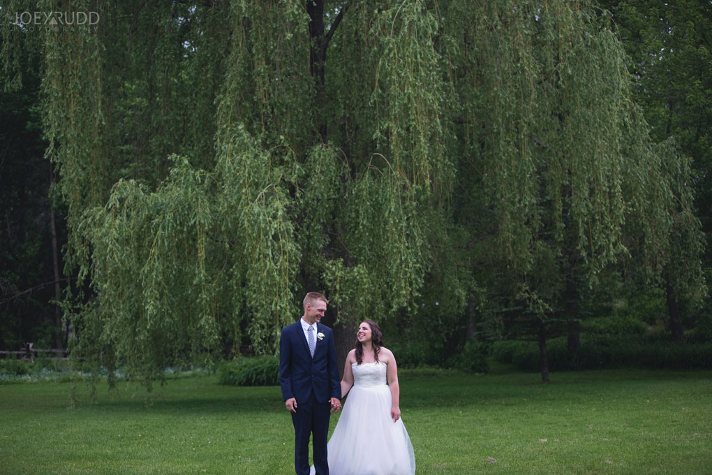 Wedding Perth Stewart Park Code's Mill Ottawa Wedidng Photographer Joey Rudd Photography Couple Willow Walking Natural
