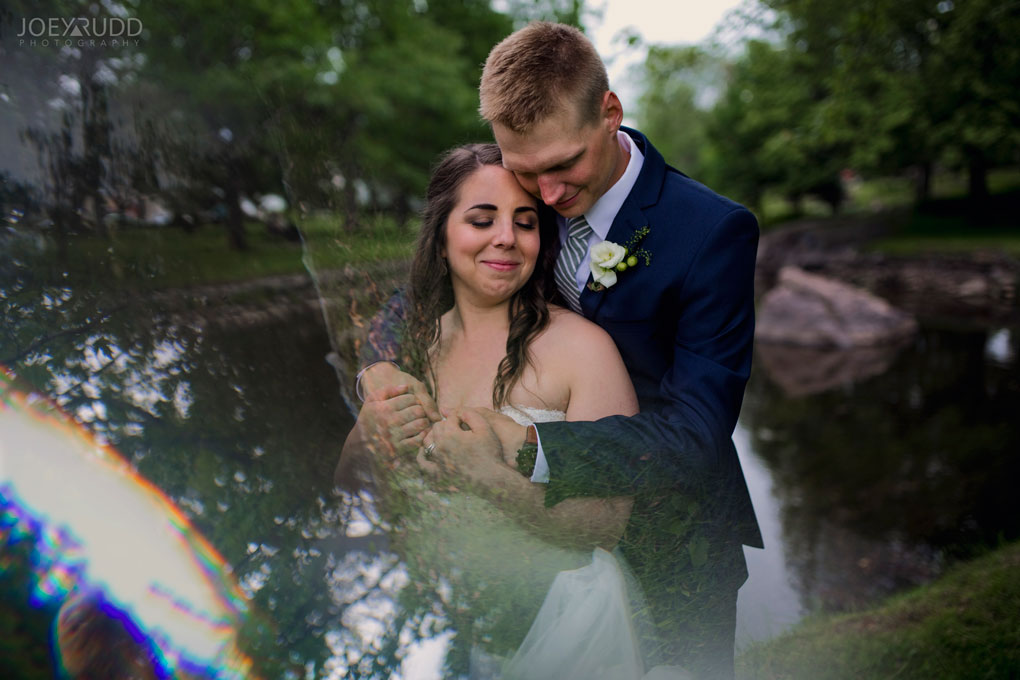 Wedding Perth Stewart Park Code's Mill Ottawa Wedidng Photographer Joey Rudd Photography Couple Prism Prisming