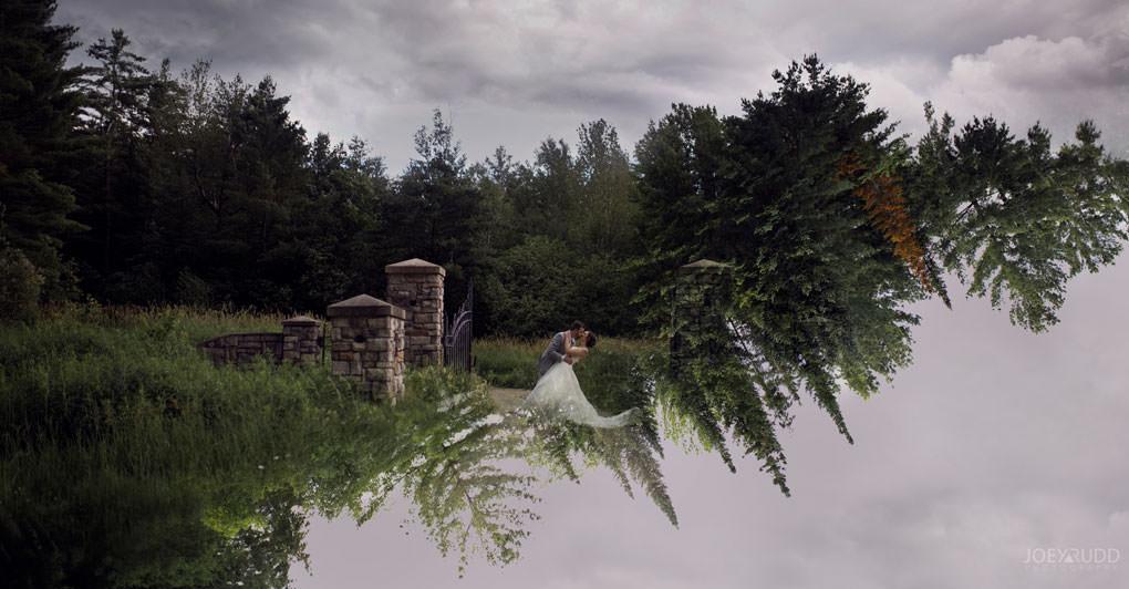 Val-des-Monts Wedding by Ottawa Wedding Photographer Joey Rudd Photography double exposure