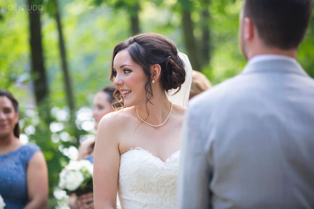Val-des-Monts Wedding by Ottawa Wedding Photographer Joey Rudd Photography Cottage Ceremony Bride