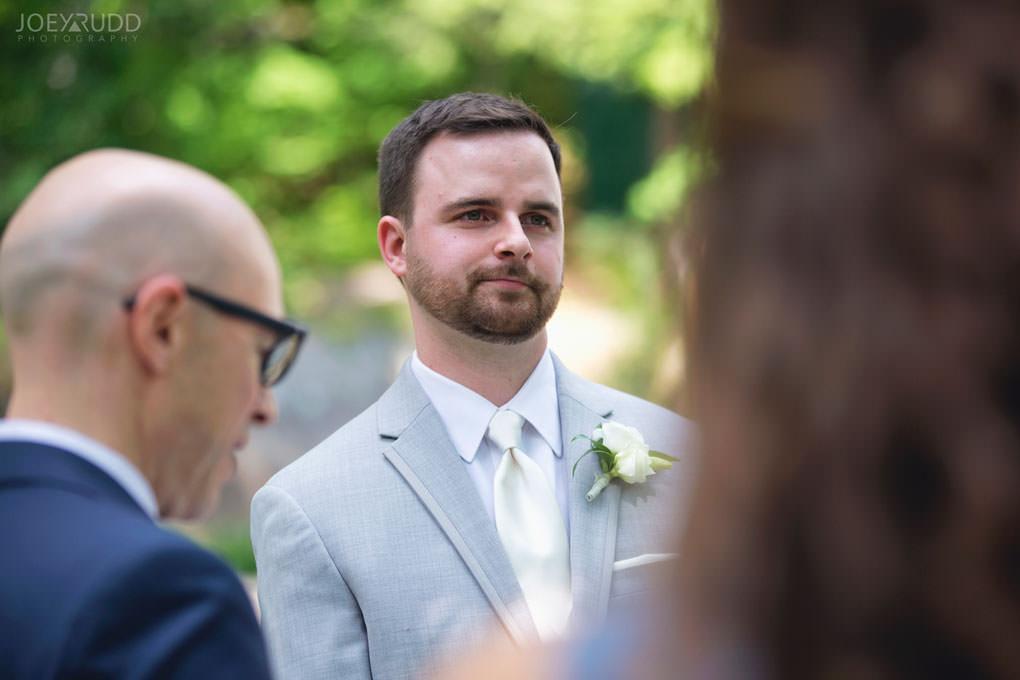 Val-des-Monts Wedding by Ottawa Wedding Photographer Joey Rudd Photography Cottage Ceremony Groom