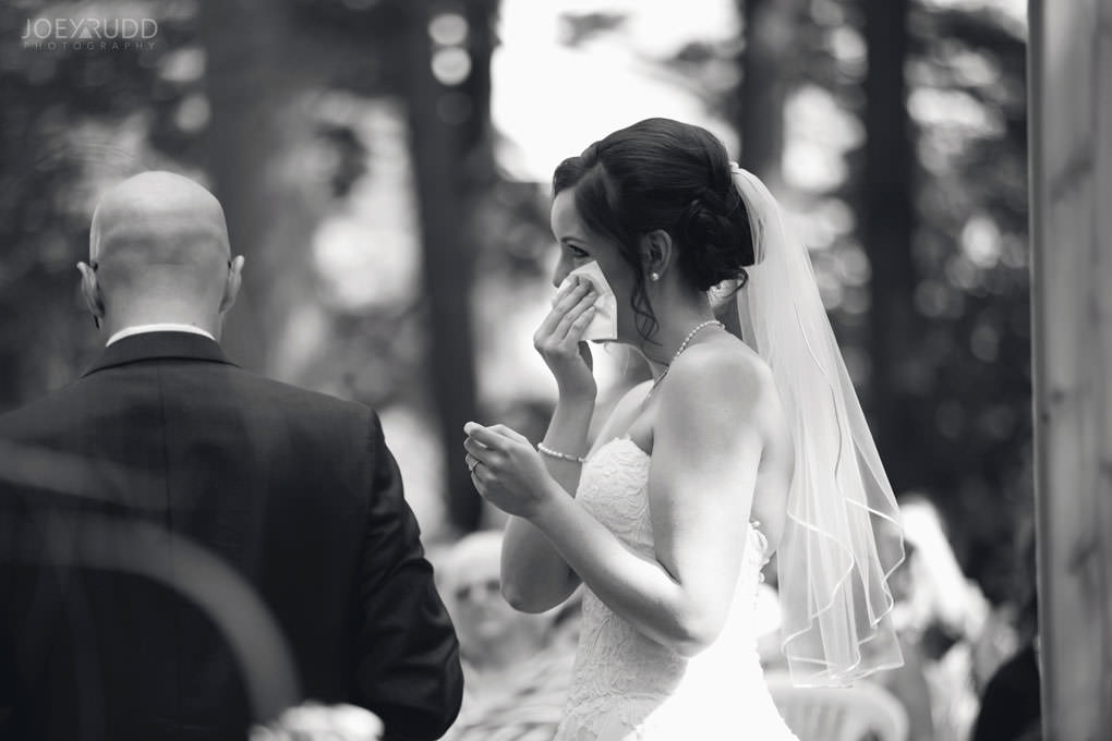 Val-des-Monts Wedding by Ottawa Wedding Photographer Joey Rudd Photography Cottage Ceremony Emotion
