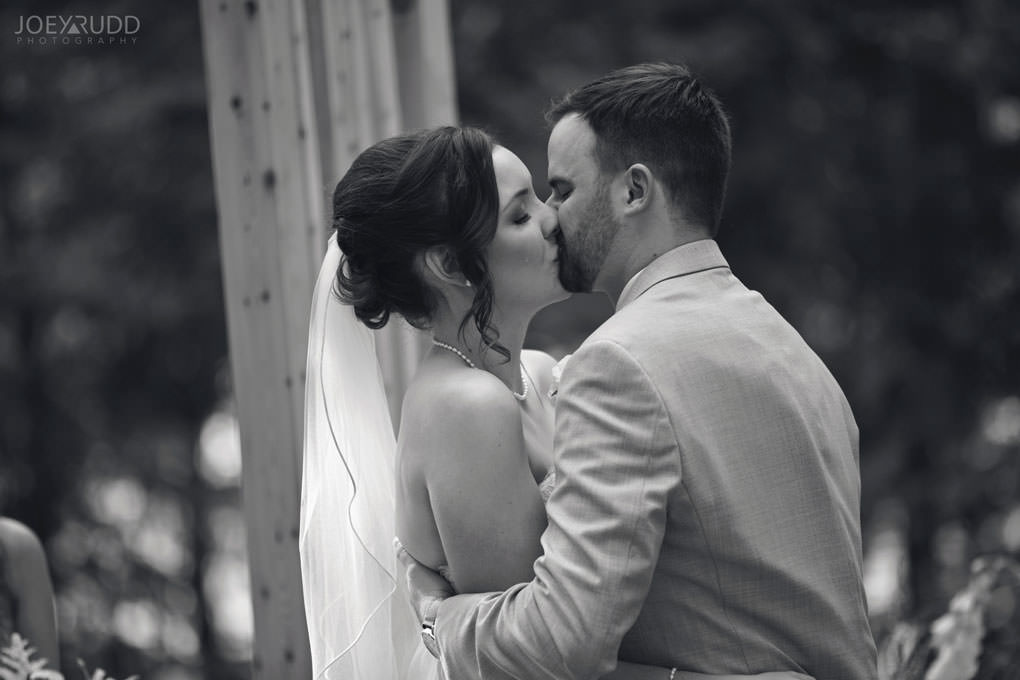 Val-des-Monts Wedding by Ottawa Wedding Photographer Joey Rudd Photography Cottage Ceremony emotion tears