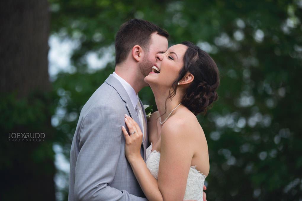 Val-des-Monts Wedding by Ottawa Wedding Photographer Joey Rudd Photography Cottage Wedding Couple