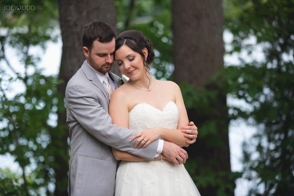 Val-des-Monts Wedding by Ottawa Wedding Photographer Joey Rudd Photography Cottage Wedding Bride and Groom Couple