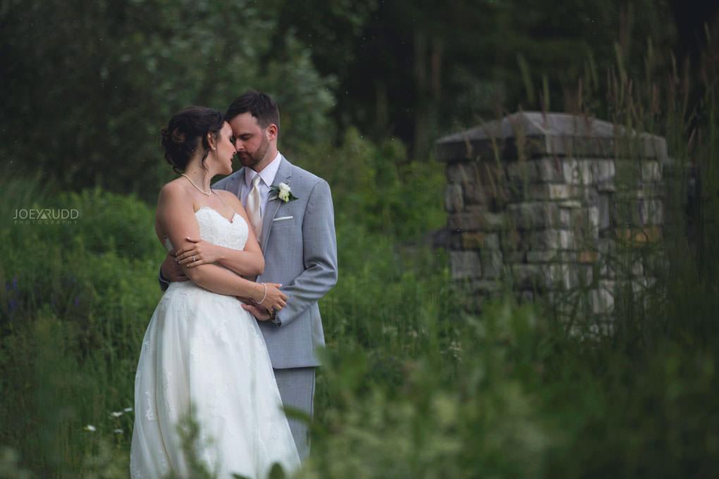 Val-des-Monts Wedding by Ottawa Wedding Photographer Joey Rudd Photography Cottage Wedding Nature Outside