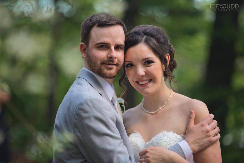 Val-des-Monts Wedding by Ottawa Wedding Photographer Joey Rudd Photography Cottage Wedding Portrait