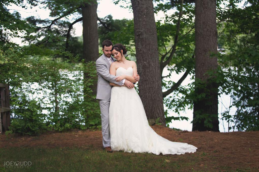 Val-des-Monts Wedding by Ottawa Wedding Photographer Joey Rudd Photography Cottage Wedding Lakeside