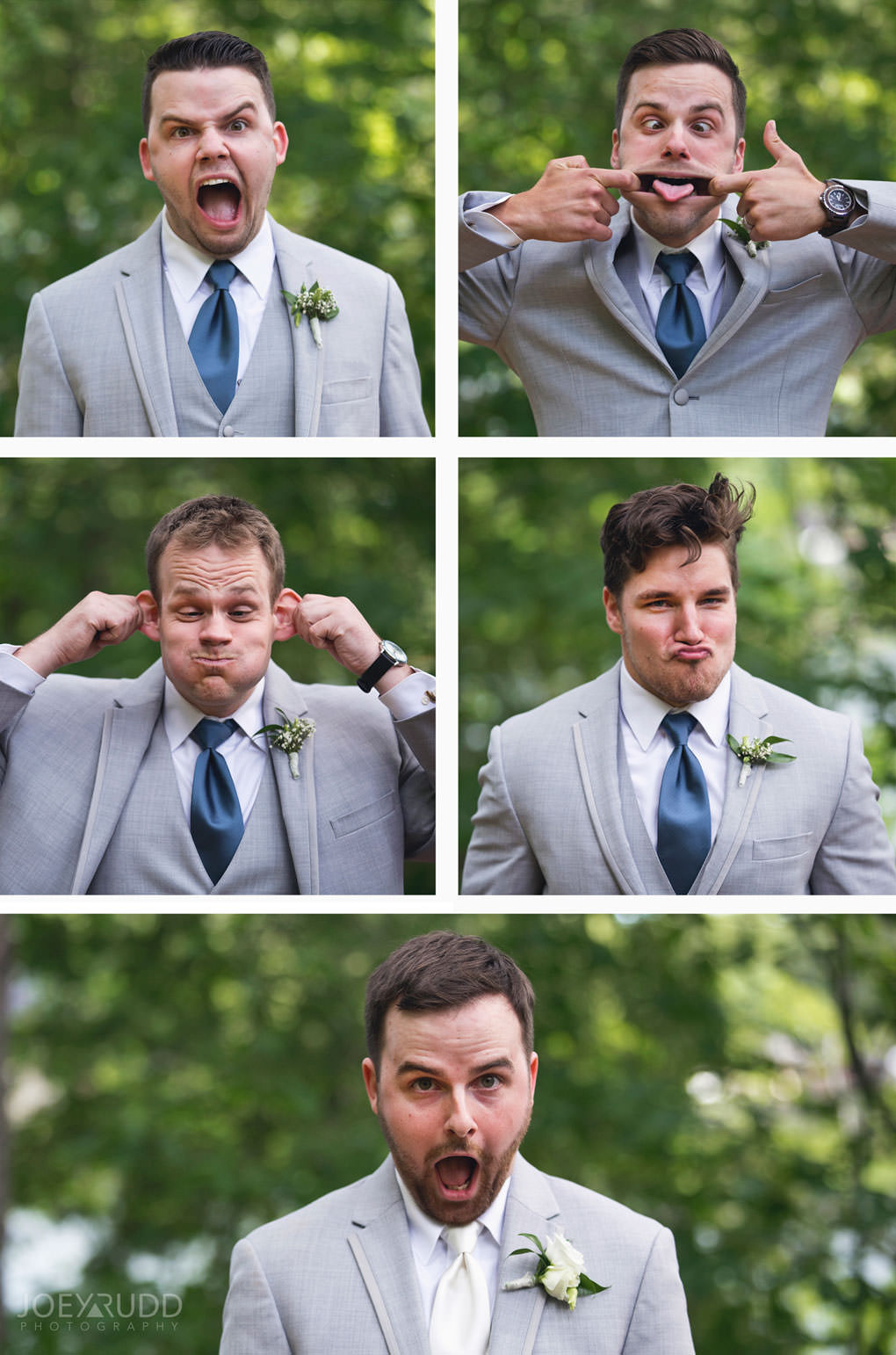 Val-des-Monts Wedding by Ottawa Wedding Photographer Joey Rudd Photography Cottage Wedding Wedding Party