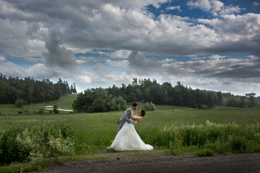 Val-des-Monts Wedding by Ottawa Wedding Photographer Joey Rudd Photography Cottage Wedding Clouds Golf and Country Club Sorcier