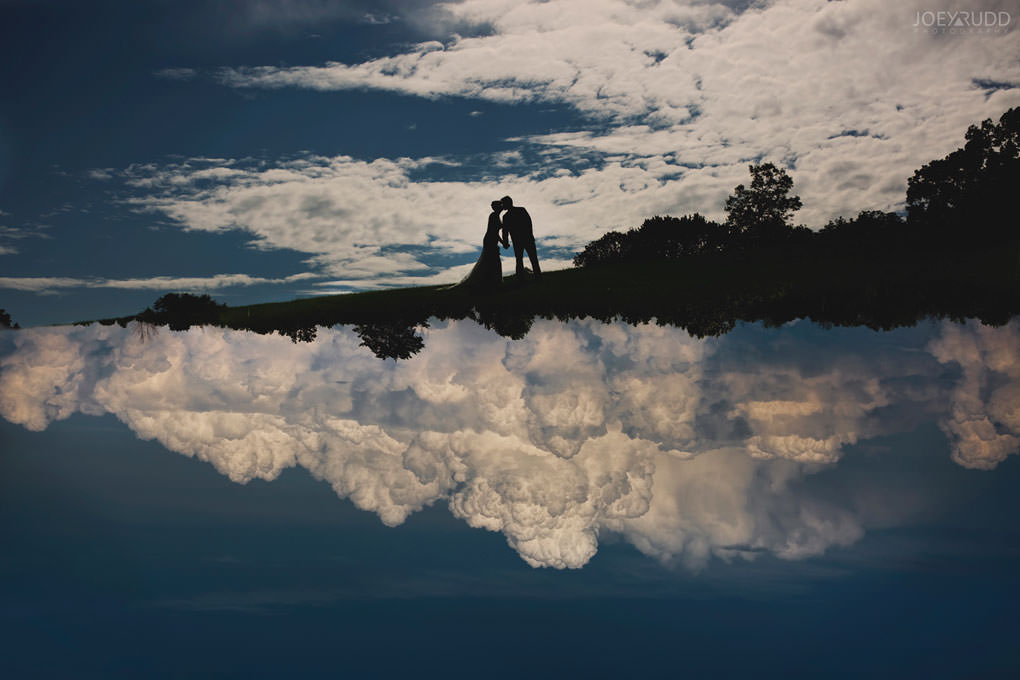 Ottawa Wedding Photographer Joey Rudd Photography Arboretum in Ottawa Park Location for Photos Outside Double Exposure Clouds
