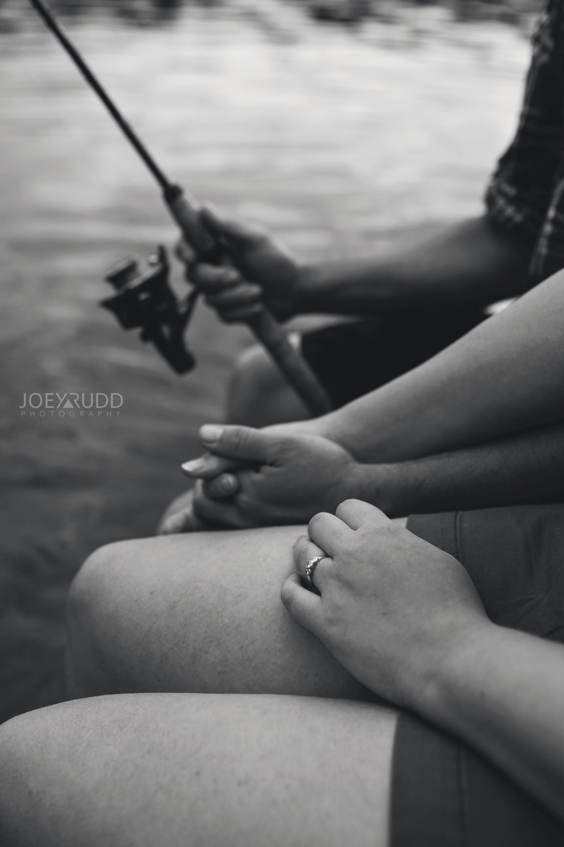 Cottage Engagement Session by Ottawa Wedding Photographer Joey Rudd Photography Fishing Cottage