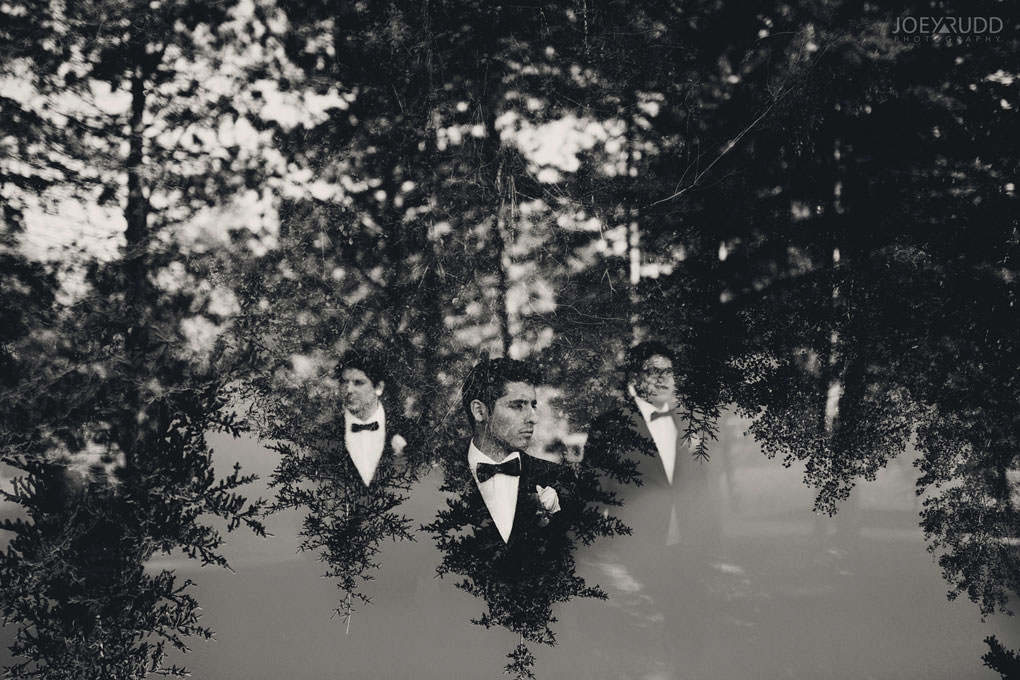 Ottawa Wedding Photos at Andrew Haydon Park and Brittania Beach by Ottawa Wedding Photographer Joey Rudd Photography Double Exposure Wedding Party Photo Fun Creative Candid