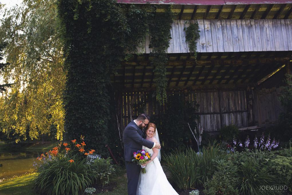 Bean Town Ranch Wedding by Ottawa Wedding Photographer Joey Rudd Photography Rustic Barn Flowers