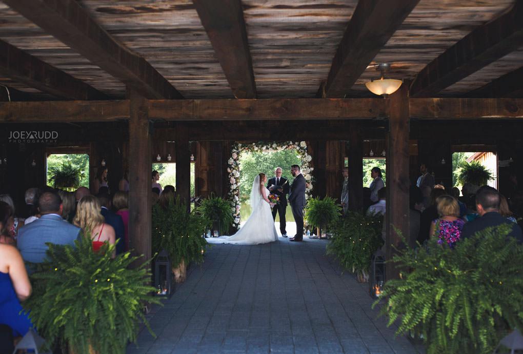 Bean Town Ranch Wedding by Ottawa Wedding Photographer Joey Rudd Photography Barn Ceremony Rustic