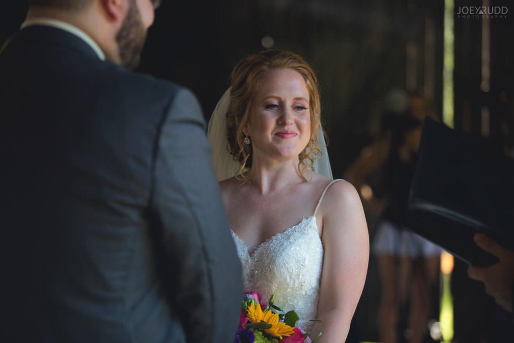 Bean Town Ranch Wedding by Ottawa Wedding Photographer Joey Rudd Photography Rustic Barn Ceremony Indoors