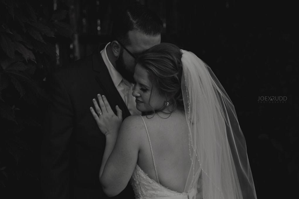 Bean Town Ranch Wedding by Ottawa Wedding Photographer Joey Rudd Photography Dramatic Classic Black and White Wedding Photo
