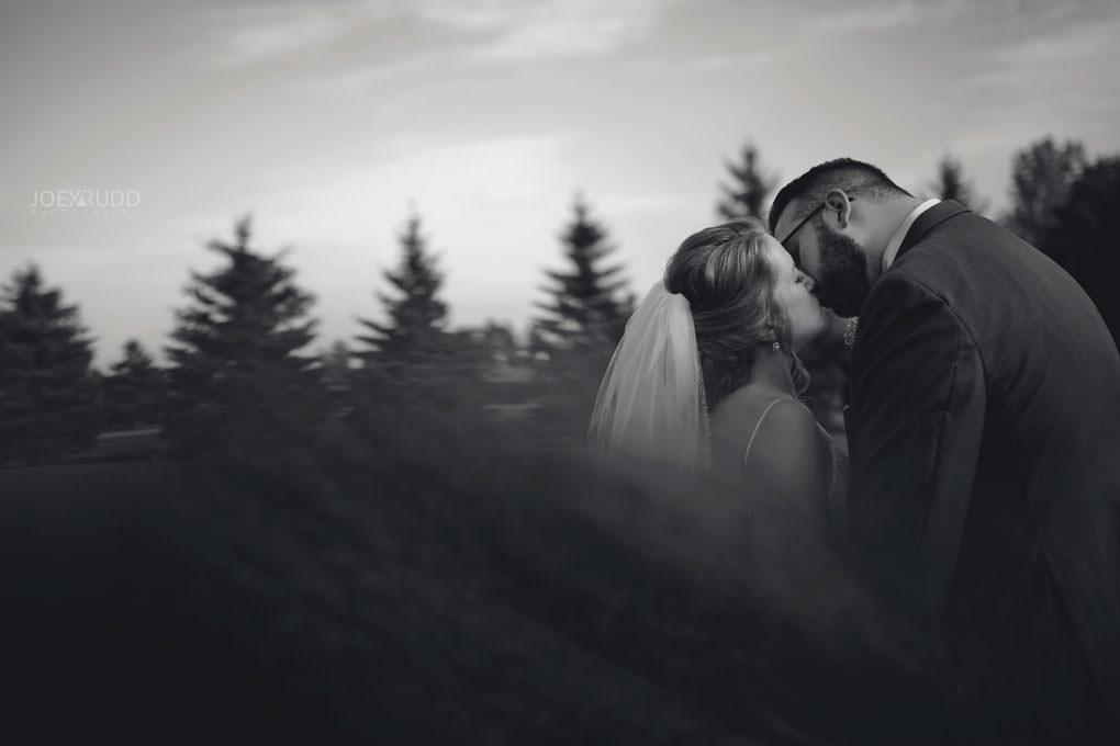 Bean Town Ranch Wedding by Ottawa Wedding Photographer Joey Rudd Photography Bride and Groom Creative Pose