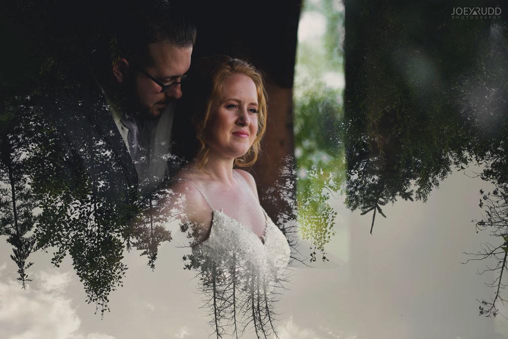 Bean Town Ranch Wedding by Ottawa Wedding Photographer Joey Rudd Photography Double Exposure Interesting Photo