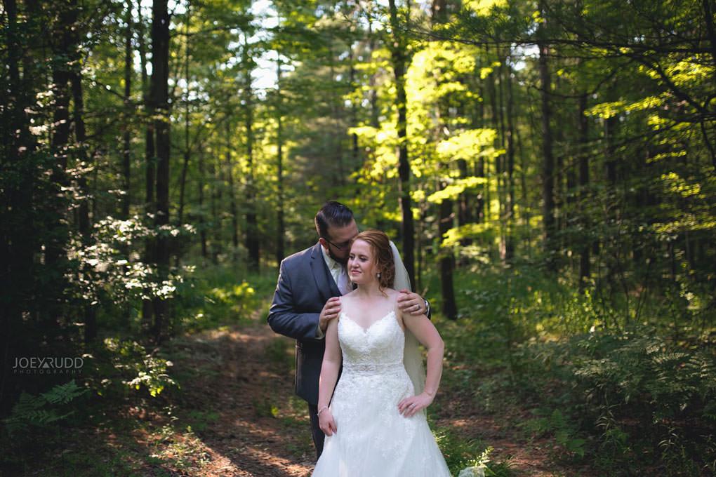Bean Town Ranch Wedding by Ottawa Wedding Photographer Joey Rudd Photography Barn Rustic Forest Trees