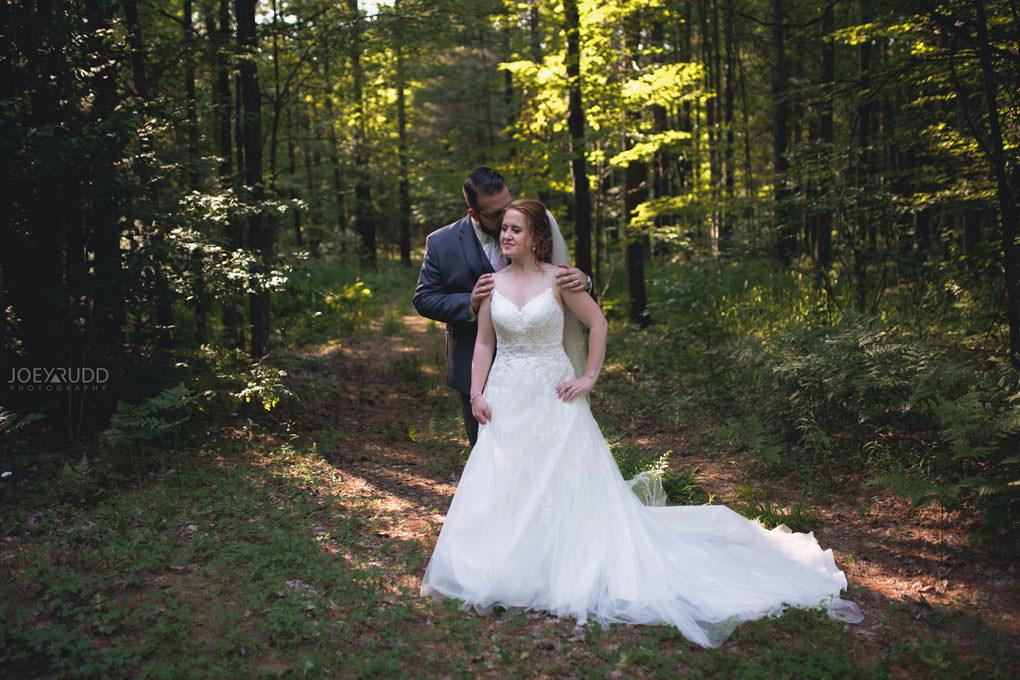 Bean Town Ranch Wedding by Ottawa Wedding Photographer Joey Rudd Photography Barn Rustic Forest Bride and Groom