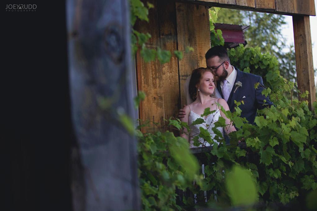 Bean Town Ranch Wedding by Ottawa Wedding Photographer Joey Rudd Photography Barn Rustic Vines