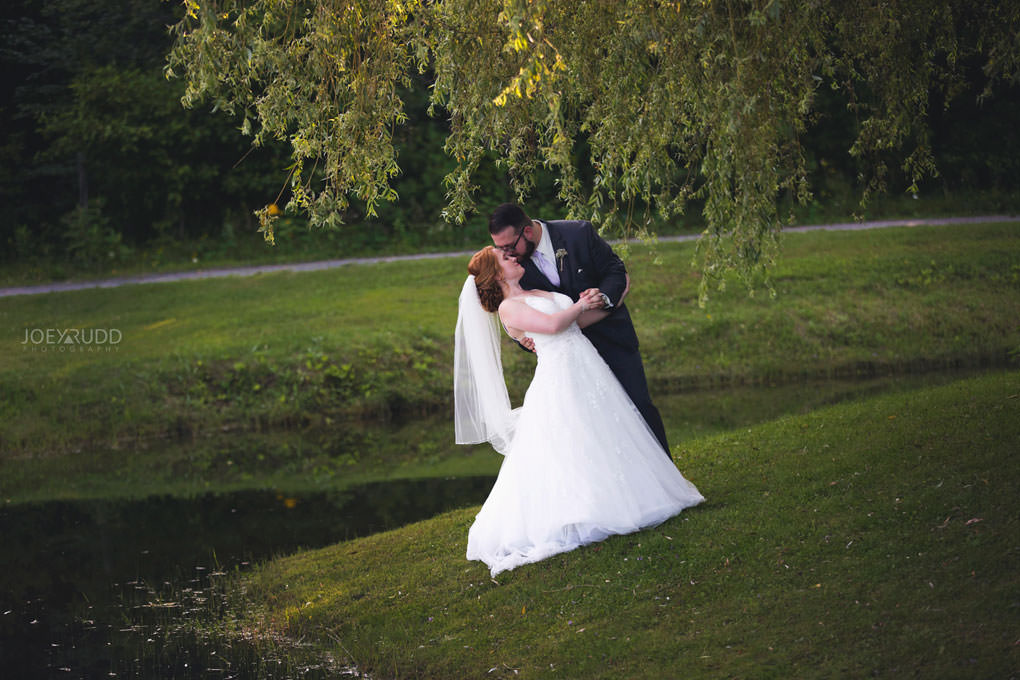 Bean Town Ranch Wedding by Ottawa Wedding Photographer Joey Rudd Photography Barn Rustic Pond