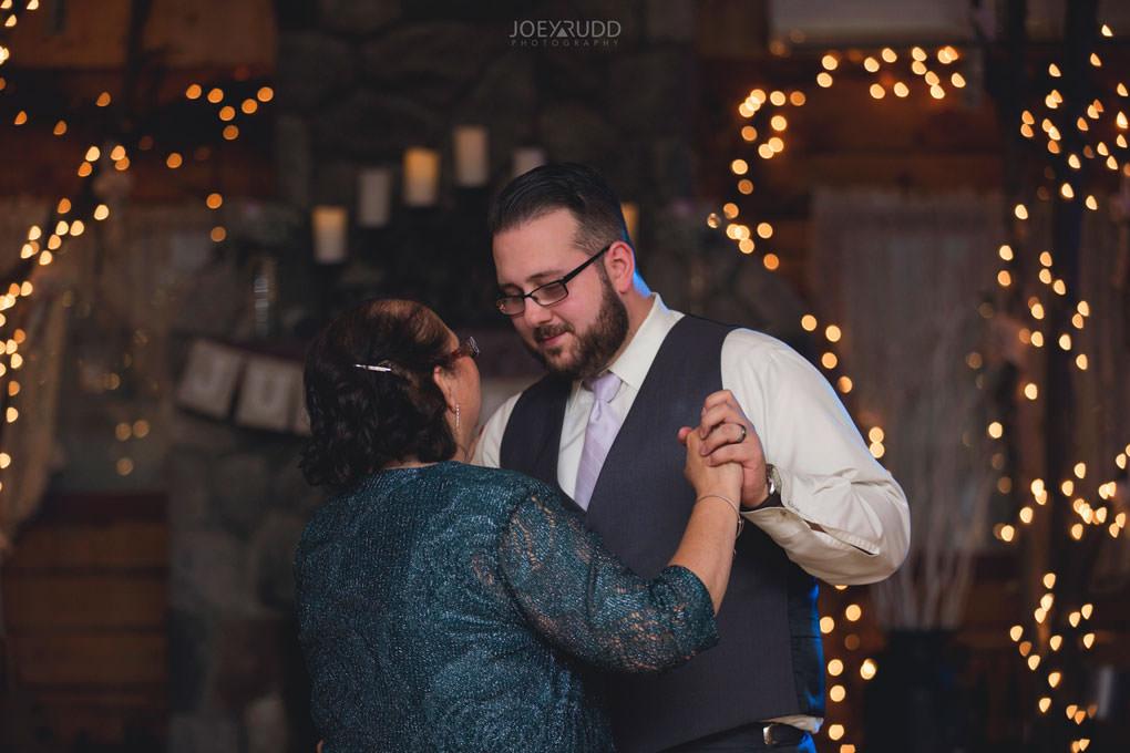 Bean Town Ranch Wedding by Ottawa Wedding Photographer Joey Rudd Photography Barn Rustic Reception Venue Mother and Groom Dancing