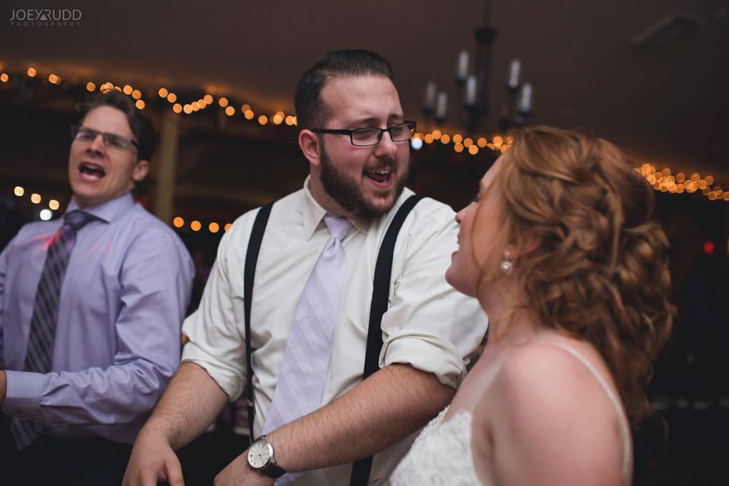 Bean Town Ranch Wedding by Ottawa Wedding Photographer Joey Rudd Photography Barn Rustic Reception Venue Groom Dancing
