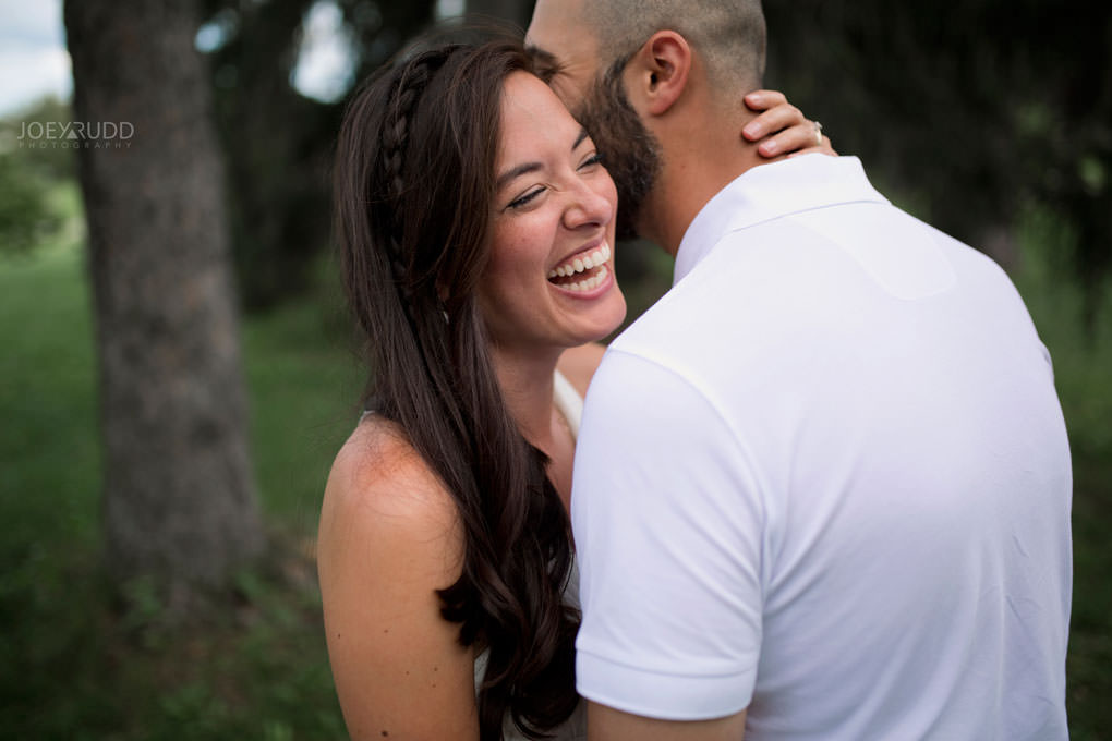Elopement Wedding Photography by Ottawa Wedding Photographer Joey Rudd Photography Arboretum Happy Candid Moments