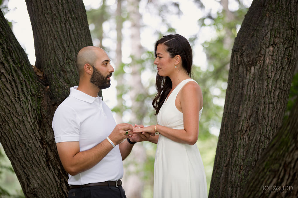 Elopement Wedding Photography by Ottawa Wedding Photographer Joey Rudd Photography Exceptional Ceremonies Officiant in Ottawa