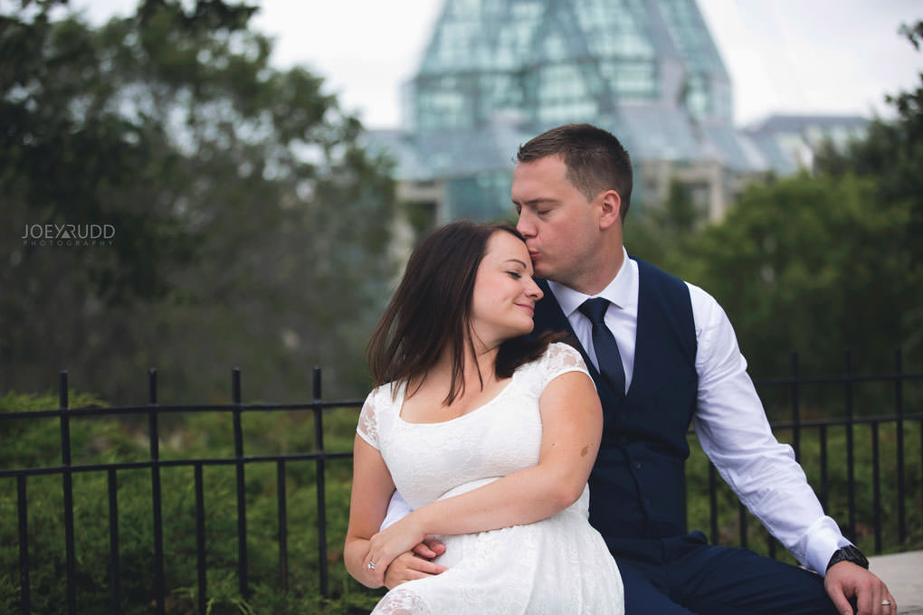 Ottawa Elopement Wedding by Ottawa Wedding Photographer Joey Rudd Photography Art Gallery Major's Hill Park Parliament Chateau Laurier Exceptional Ceremonies