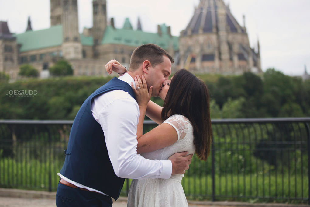 Ottawa Elopement Wedding by Ottawa Wedding Photographer Joey Rudd Photography Art Gallery Major's Hill Park Parliament Chateau Laurier Exceptional Ceremonies Rideau