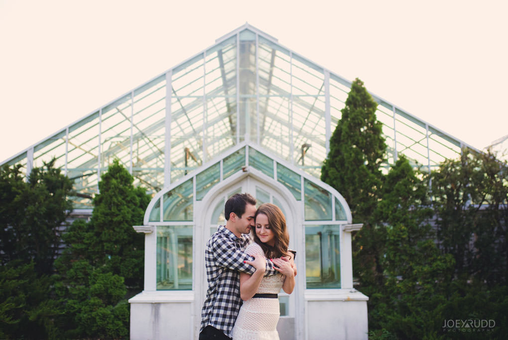 Engagement session at the Arboretum by Ottawa Wedding Photographer Joey Rudd Photography Greenhouses Classic