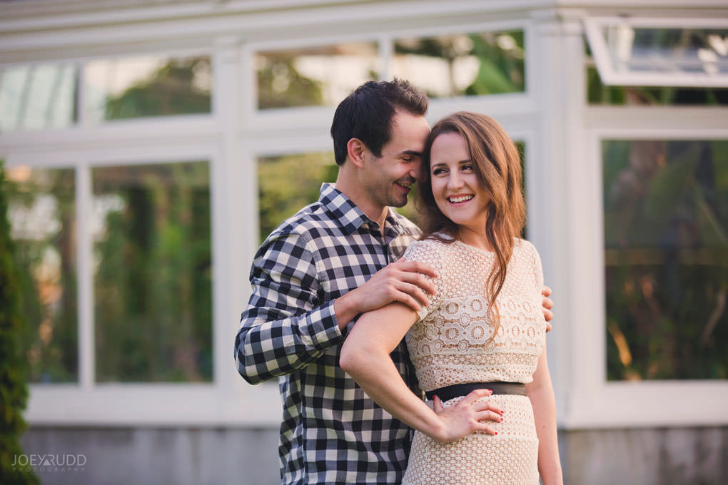 Engagement session at the Arboretum by Ottawa Wedding Photographer Joey Rudd Photography Greenhouse Flowers