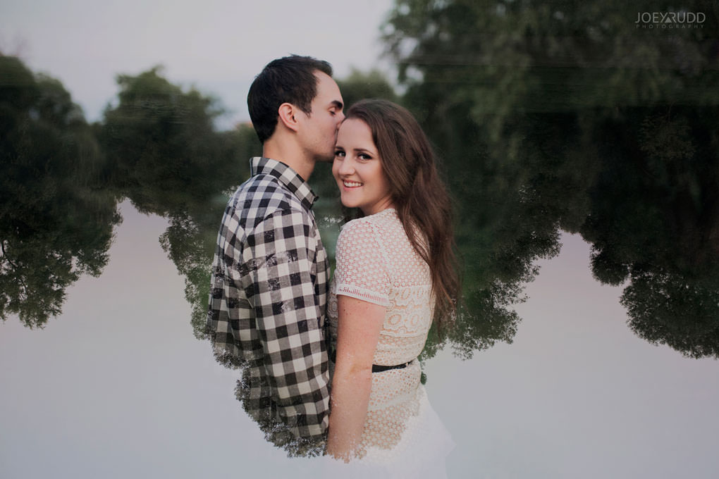 Ottawa Engagement Session at the Experimental Farm and Arboretum by Ottawa Wedding Photographer Joey Rudd Photography Double Exposure Multiple Exposure