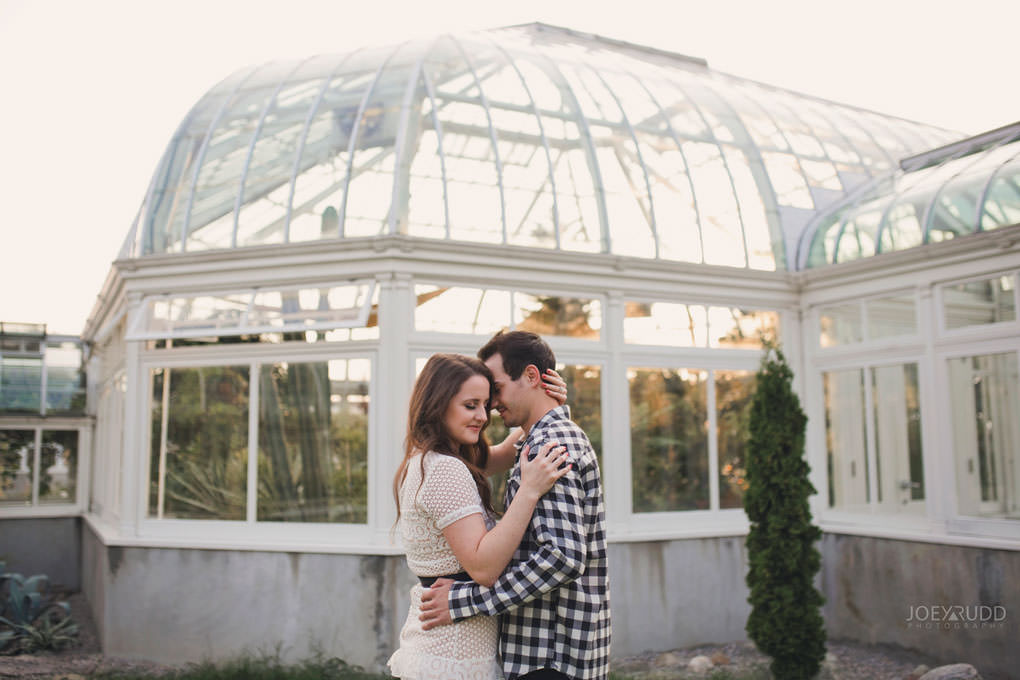 Ottawa Engagement Session at the Experimental Farm and Arboretum by Ottawa Wedding Photographer Joey Rudd Photography Greenhouses Park