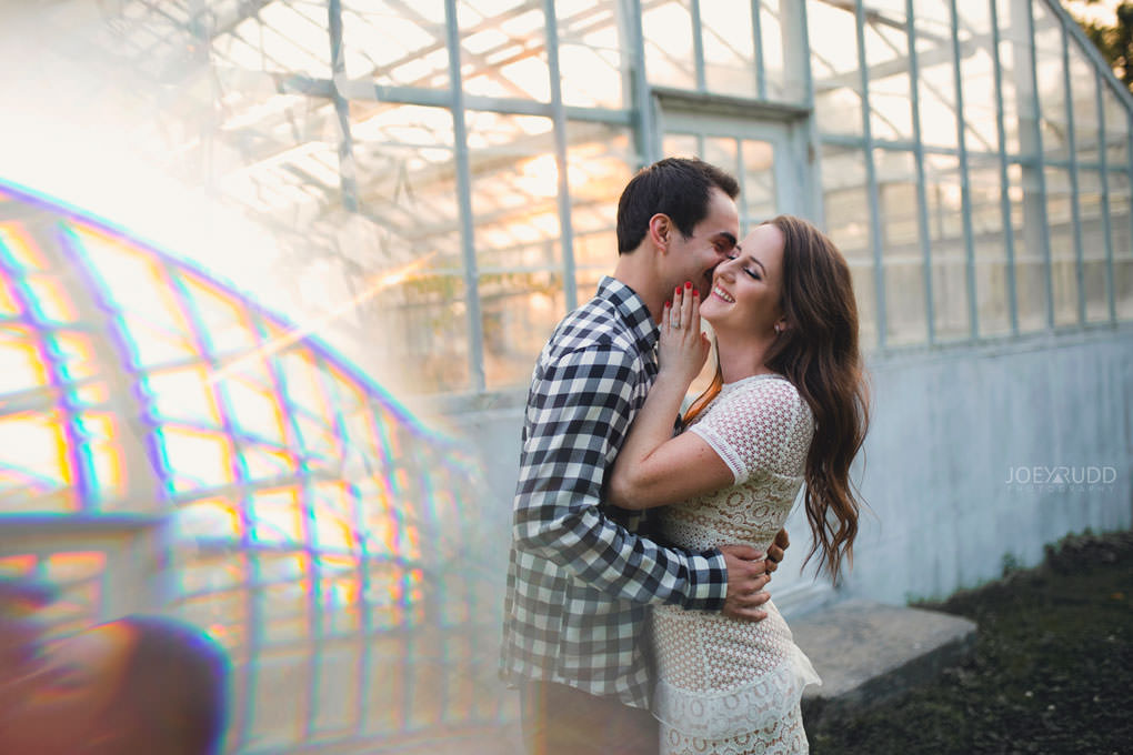 Ottawa Engagement Session at the Experimental Farm and Arboretum by Ottawa Wedding Photographer Joey Rudd Photography Prisming Prism Greenhouse