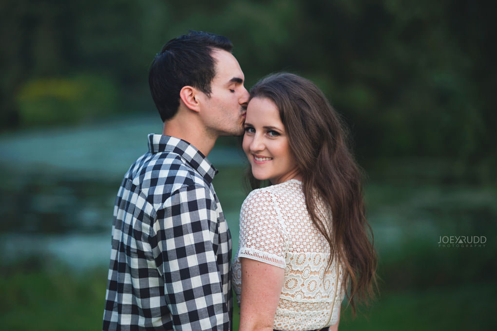Ottawa Engagement Session at the Experimental Farm and Arboretum by Ottawa Wedding Photographer Joey Rudd Photography water