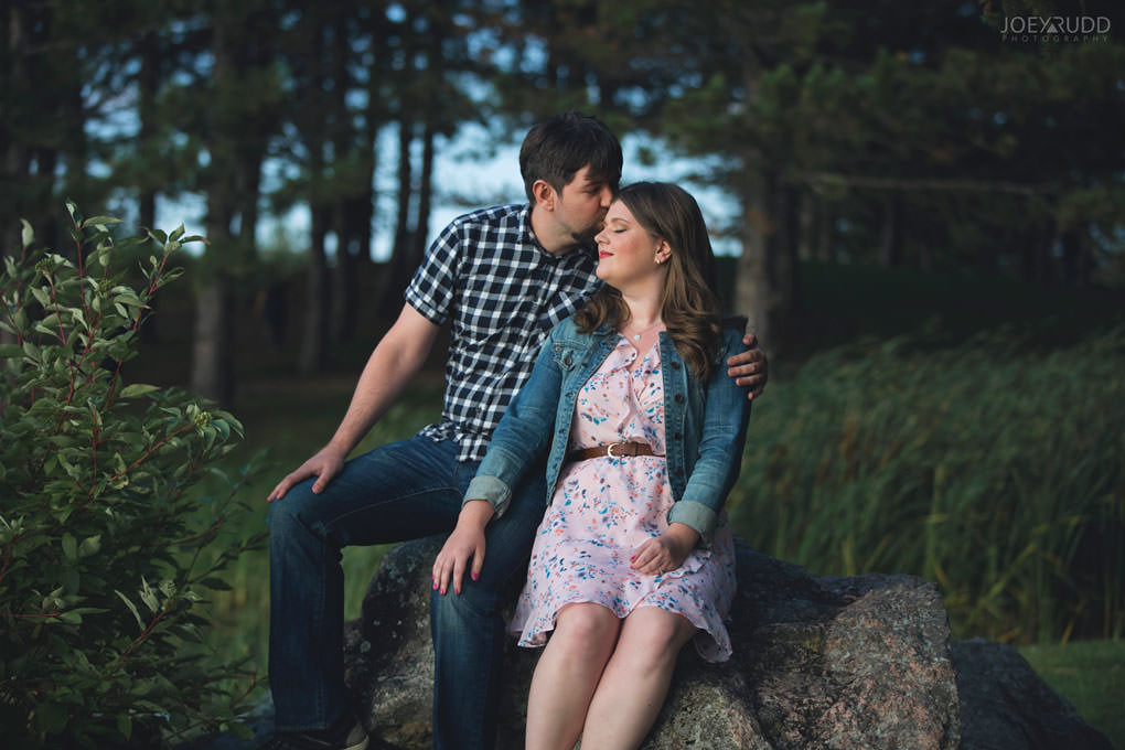 Andrw Haydon Park Engagement Photos by Ottawa Wedding Photographer Joey Rudd Photography Natural Pose