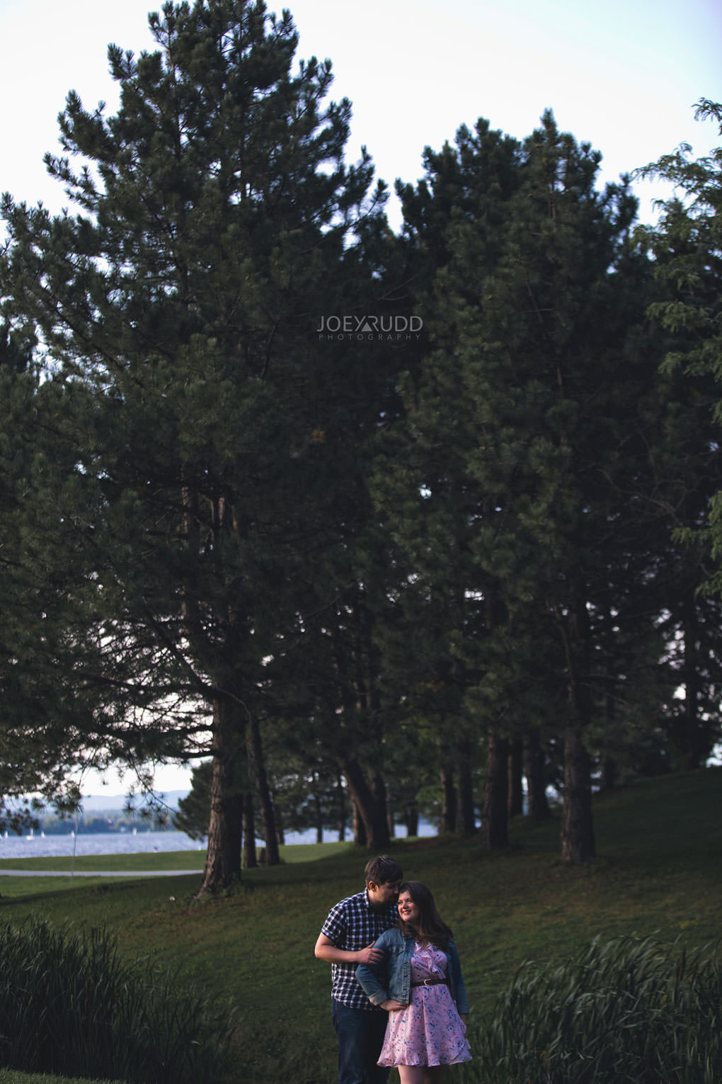 Andrw Haydon Park Engagement Photos by Ottawa Wedding Photographer Joey Rudd Photography Trees
