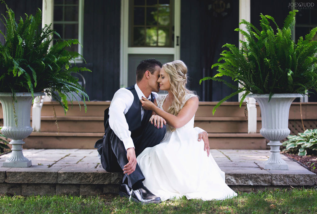Ottawa Wedding Photography by Ottawa Wedding Photographer Joey Rudd Photography Elopement Carleton Place Smiths Falls Ontario Rustic Porch